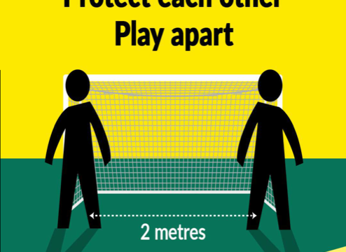 COVID-19 Protect Each Other Play Apart