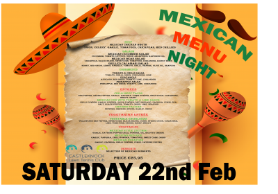 Mexican themed food offering