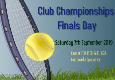 Club Championships Finals Day
